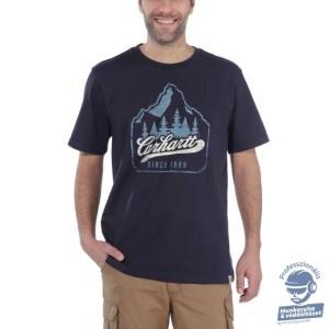 (104104) Carhartt Workwear Patch Logo rövid ujjú póló