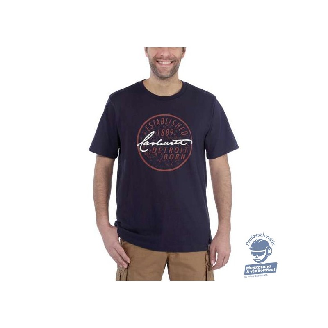 (104105) Carhartt Workwear Detroit Born Logo rövid ujjú póló