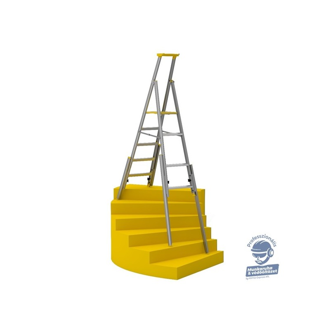 Wibe 77S lépcsőházi létra extra kiegészítő tálcával