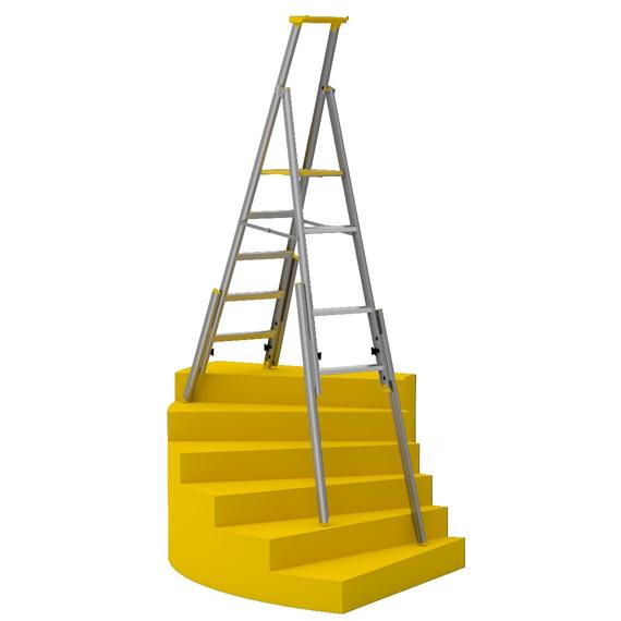 Wibe lépcsőházi létra állítható lábakkal