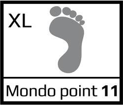 Láb szélesége (XL)