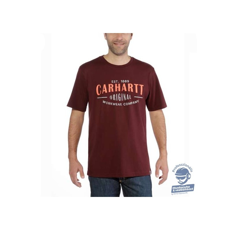 (103665) PÓLÓ CARHARTT MUNKARUHA WORKWEAR ORIGINAL GRAPHIC
