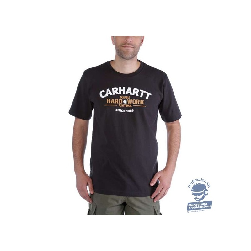 (103406) PÓLÓ CARHARTT MUNKARUHA GRAPHIC HARD WORK