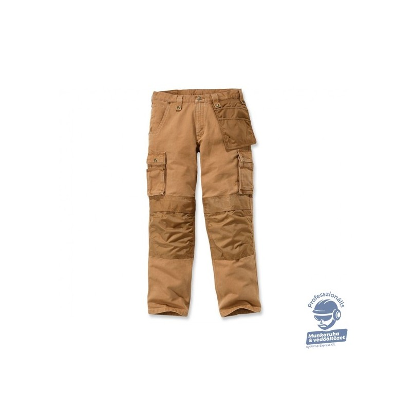 (101837) NADRÁG CARHARTT MUNKARUHA WASHED DUCK MULTIPOCKET